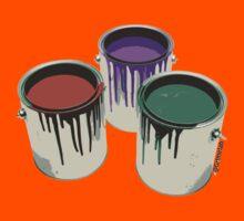 3 Paint Gallons Kids Clothes