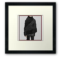 Dystopia - Concept Costume Framed Print
