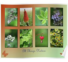 All Things Nature Poster