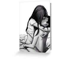 ..:young love:.. Greeting Card