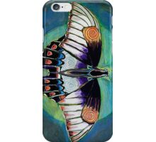 Spiral Butterfly II iPhone Case/Skin