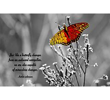 Miraculous Changes . . . Photographic Print