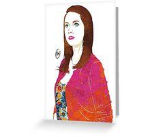 Community: Annie Edison Greeting Card