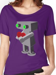 Robots need love too... Women's Relaxed Fit T-Shirt