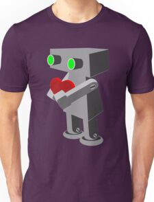 Robots need love too... Unisex T-Shirt