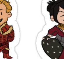 Team Fancy Origins Sticker