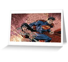 Superman/Wonder Woman Greeting Card