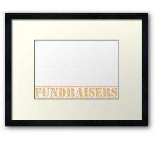 8th Day Fundraisers T-shirt Framed Print