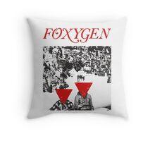Foxygen  Throw Pillow