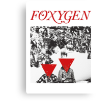 Foxygen  Canvas Print