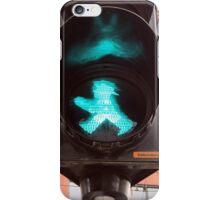 Ampelmännchen, Green Traffic Man, Berlin iPhone Case/Skin