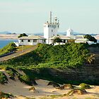 Newcastle Harbour - Nobby's Lighthouse by Phil Woodman