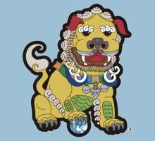 Golden Temple Lion - Male T-Shirt