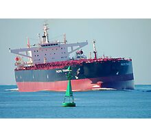 Coal ship Newcastle Harbour - Pacific Triangle Photographic Print