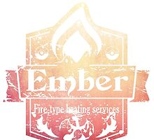 Pokemon - Ember Heating Services (Distressed) by PPWGD