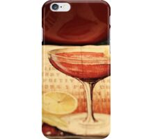 Coffee & A Cosmo Coaster iPhone Case/Skin
