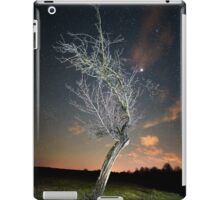 Night landscape with tree iPad Case/Skin