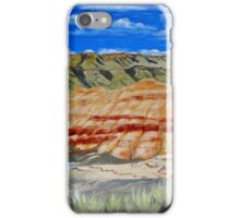 John Day Fossil Beds Painted Hills (Eastern Oregon) iPhone Case/Skin