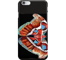 Spiral Butterfly III iPhone Case/Skin