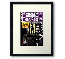 Crime Intenstories Framed Print