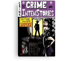 Crime Intenstories Canvas Print