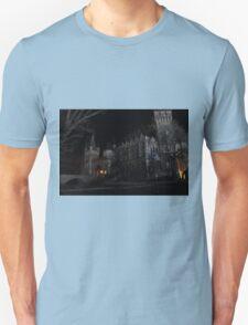 Vajdahunyad Castle at Night T-Shirt