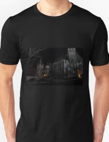 Vajdahunyad Castle at Night T-Shirt