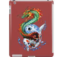 Dragon, Carp iPad Case/Skin
