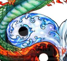 Dragon, Carp Sticker