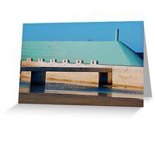 Can't Wait for Summer - Newcastle Ocean Baths Greeting Card