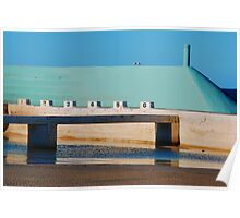 Can't Wait for Summer - Newcastle Ocean Baths Poster