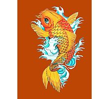 Carp Koi Photographic Print