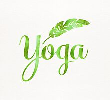 Yoga Green Forest by Pranatheory