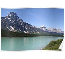 Waterfowl Lake Poster