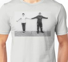 Love on the Concrete Wall Unisex T-Shirt