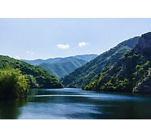 Summer Sunshine and a Gentle Breeze - Mountain Lake Impression Photographic Print