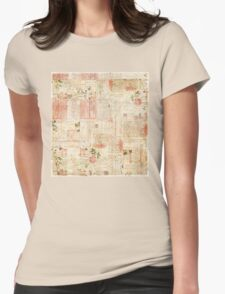 Collage magazine Womens Fitted T-Shirt
