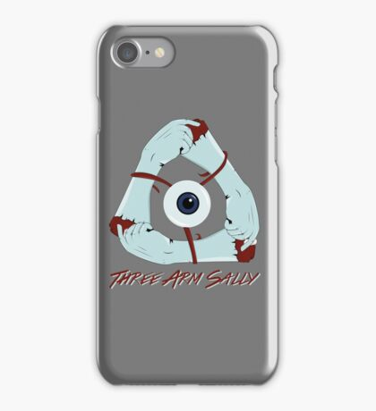 Three Arm Sally iPhone Case/Skin