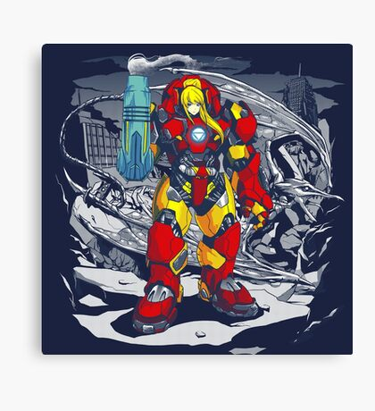 Ridley Buster Canvas Print