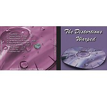 The Distortions Warped CD Cover Photographic Print