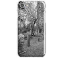 Salem Black River Cemetery2 iPhone Case/Skin