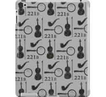 Sherlock Holmes Pattern iPad Case/Skin