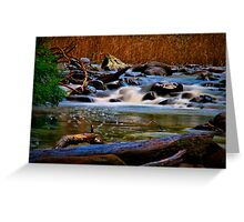 """Along the Cumberland River"" Greeting Card"