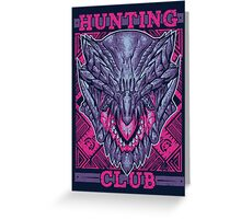 Hunting Club: Gore Magala Greeting Card