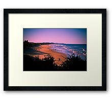 Glorious Sunshine Coast Framed Print