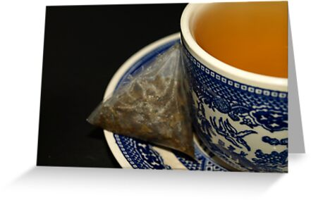 CUP OF GREEN TEA by Sharon A. Henson