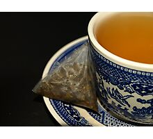 CUP OF GREEN TEA Photographic Print