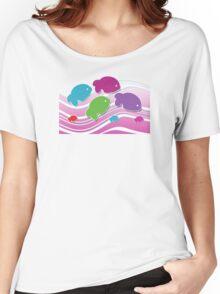 Koi Koi Carp TShirt Women's Relaxed Fit T-Shirt