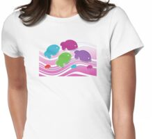 Koi Koi Carp TShirt Womens Fitted T-Shirt