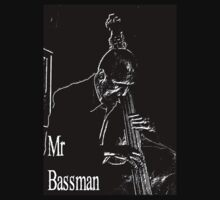 Mr Bassman Black by DavidFrench